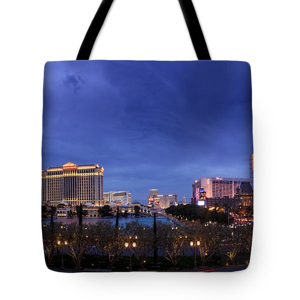 Panorama Of Las Vegas Tote Bag