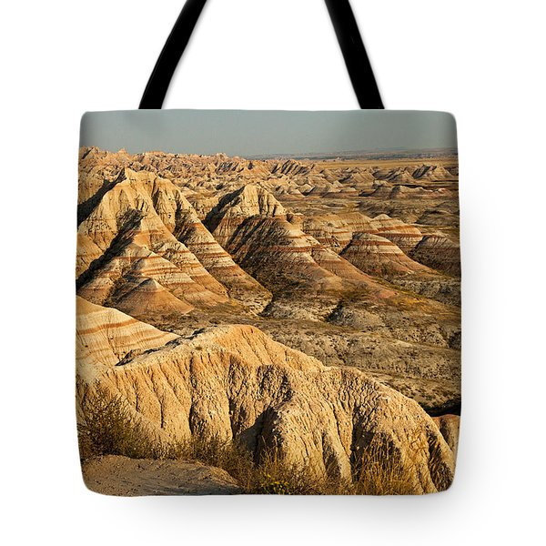 Panorama Point Badlands National Park Tote Bag