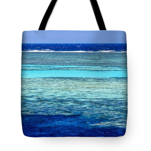 Panorama Reef Tote Bag
