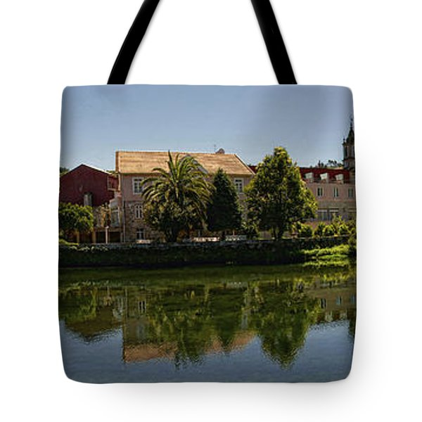 Panoramic Landscape Tote Bag