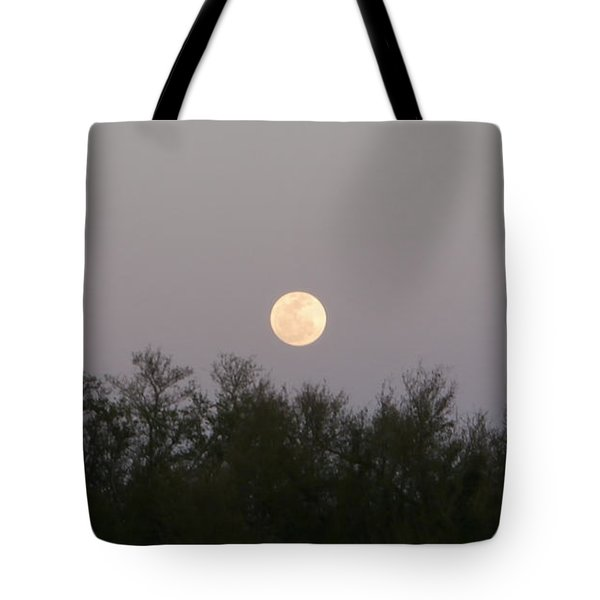 Panoramic New Orleans Moon Rising Tote Bag by Joseph Baril
