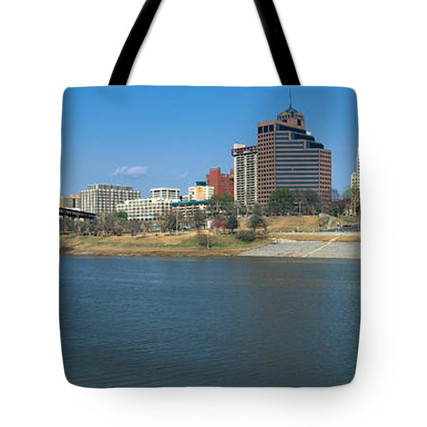 Panoramic View Of Mississippi River Tote Bag