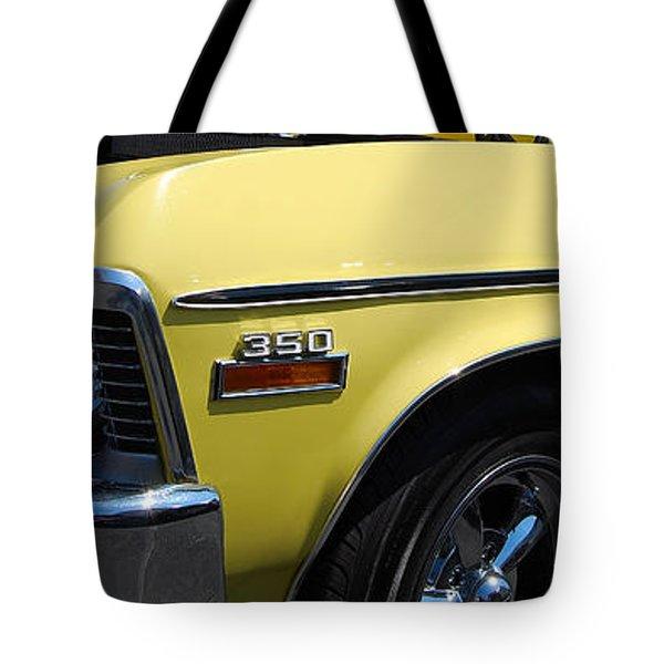 panoramic yellow Nova Tote Bag