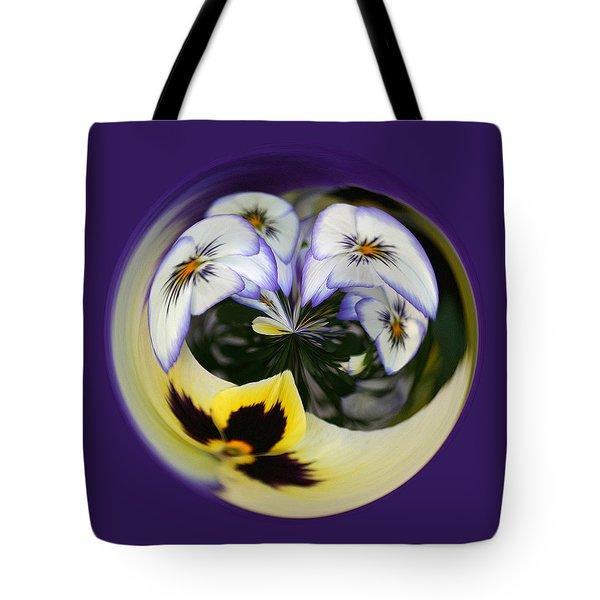 Pansy Ball Tote Bag