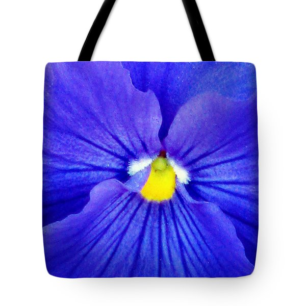 Pansy Flower 37 Tote Bag
