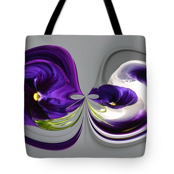 Pansy Series 802 Tote Bag