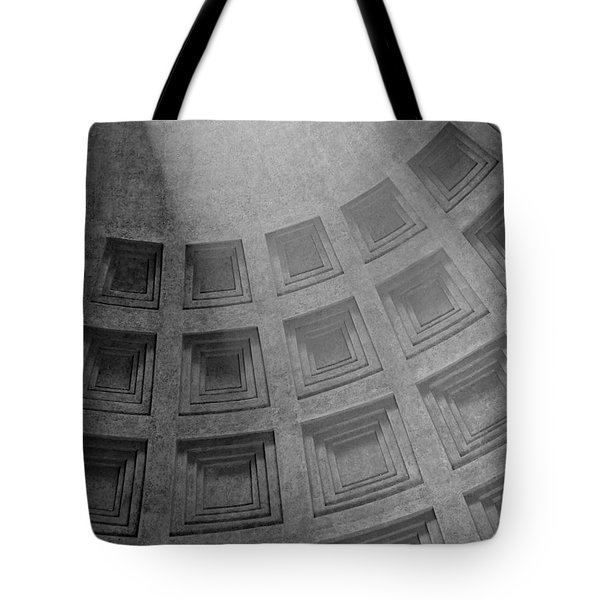 Pantheon Ceiling Tote Bag