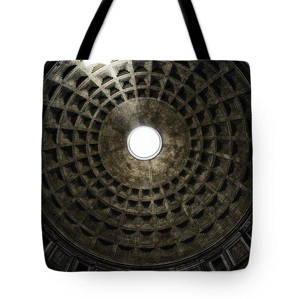 Pantheon Oculus Tote Bag by Joan Carroll