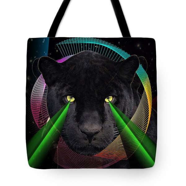 Panther Tote Bag by Mark Ashkenazi