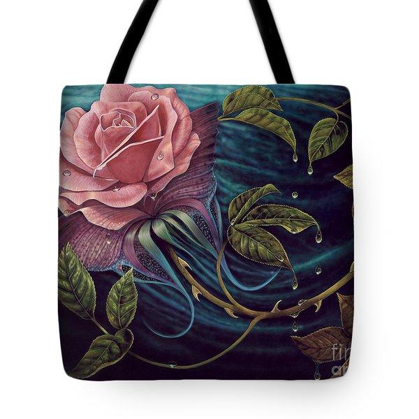 Papalotl Rosalis Tote Bag by Ricardo Chavez-Mendez