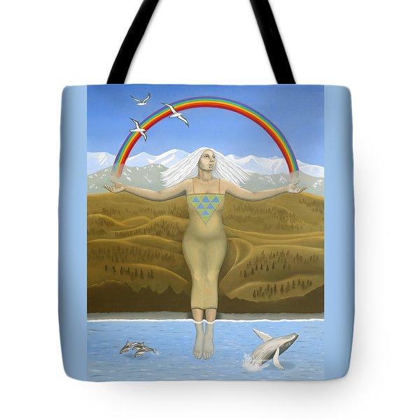 Papatuanuku / Capricorn Tote Bag by Karen MacKenzie