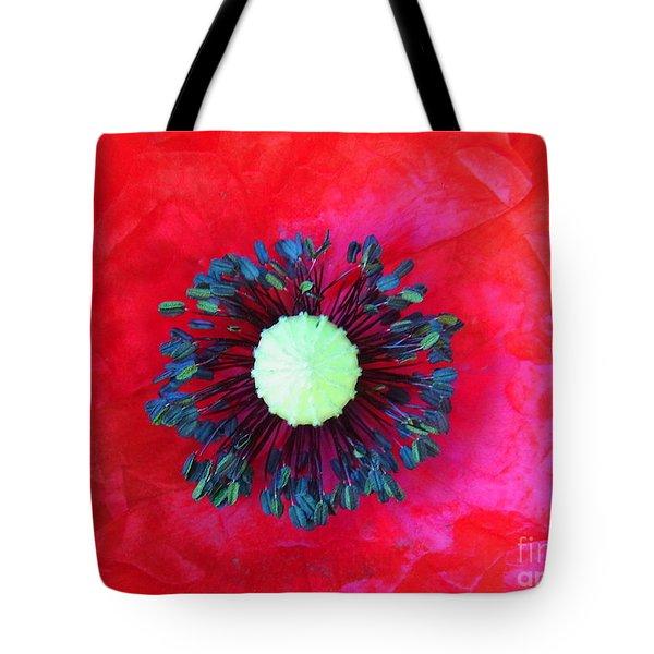 Papaver's Eye Tote Bag