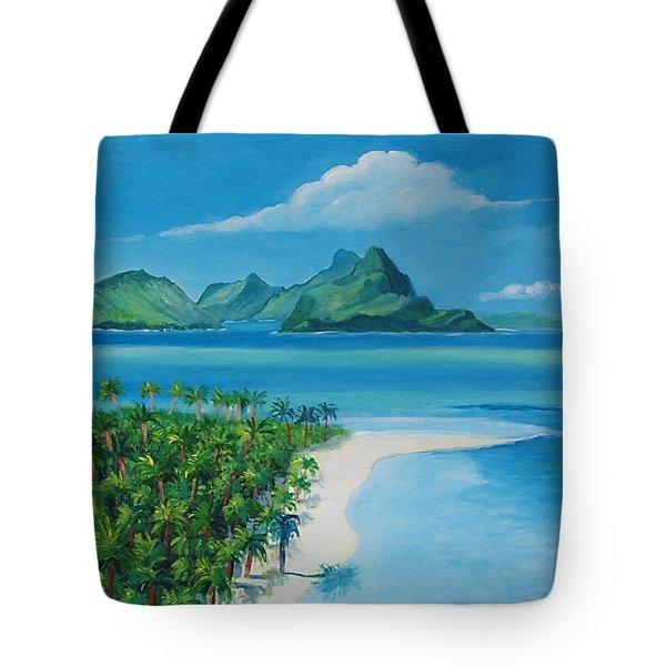 Papeete Bay In Tahiti Tote Bag