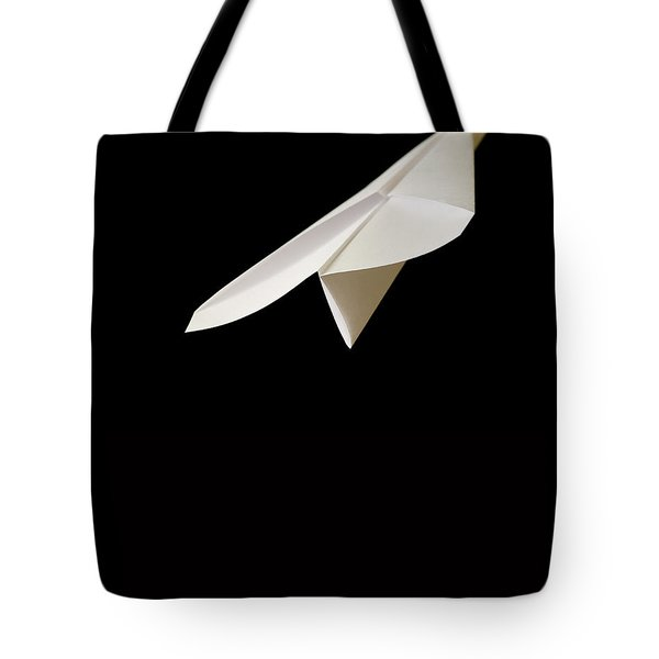 Paper Airplane Tote Bag by Edward Fielding
