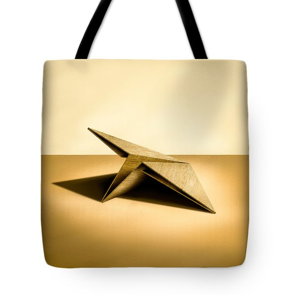 Paper Airplanes Of Wood 7 Tote Bag
