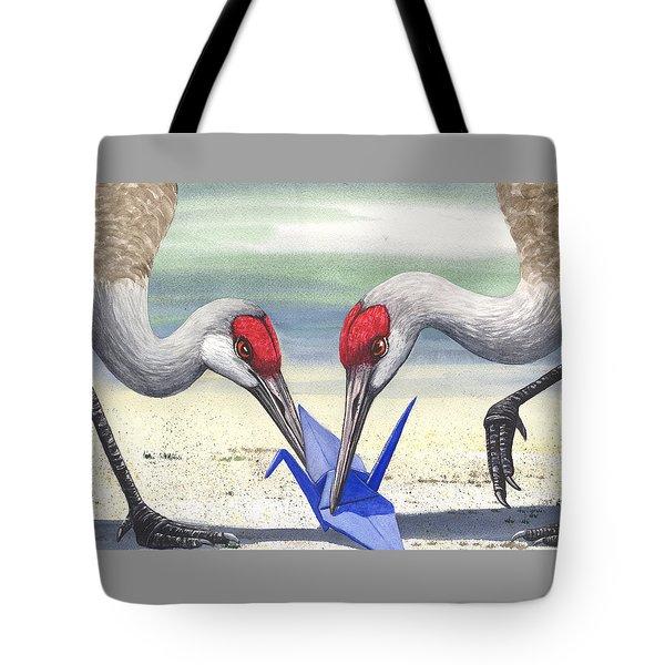 Paper Crane Tote Bag