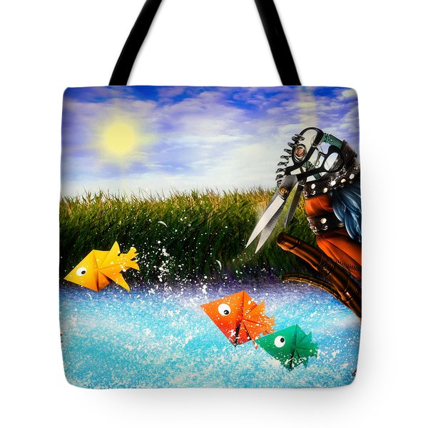 Paper Dreams Tote Bag
