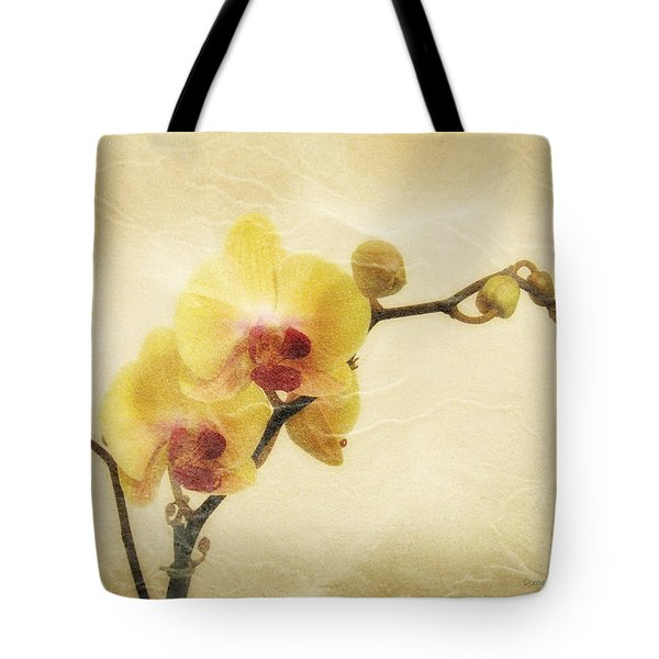 Paper Flowers Tote Bag by Donna Blackhall