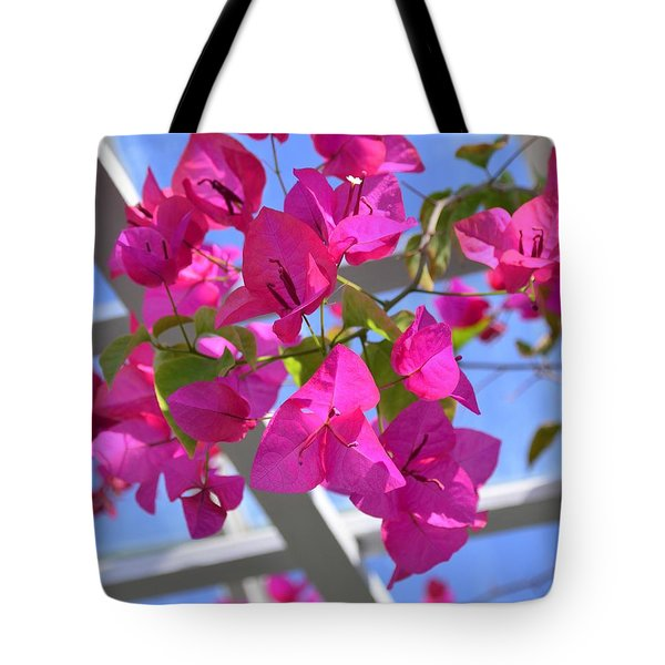 Paper Flowers Tote Bag by Kathleen Struckle
