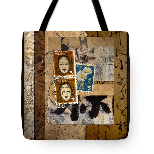 Paper Postage And Paint Tote Bag by Carol Leigh