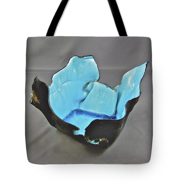 Paper-thin Bowl  09-001 Tote Bag by Mario Perron