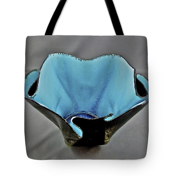 Paper-thin Bowl  09-002 Tote Bag by Mario Perron