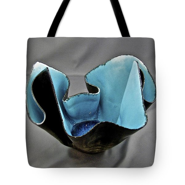 Paper-thin Bowl  09-003 Tote Bag by Mario Perron