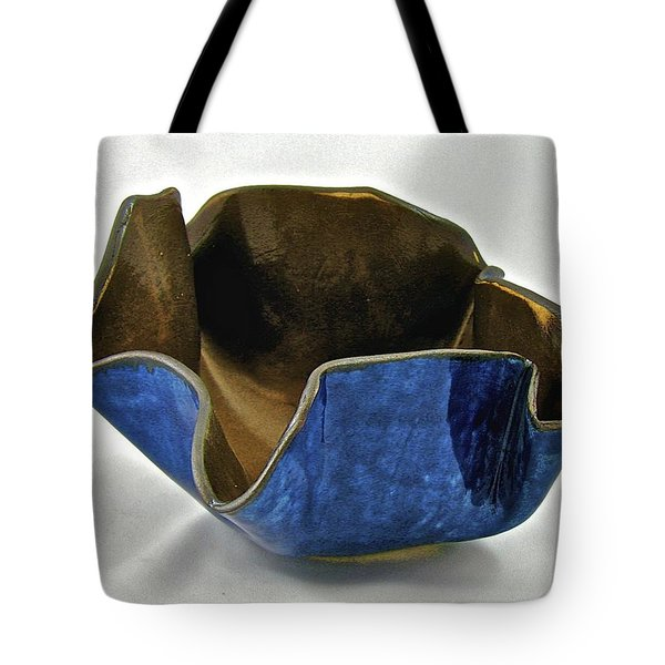 Paper-thin Bowl  09-005 Tote Bag by Mario Perron