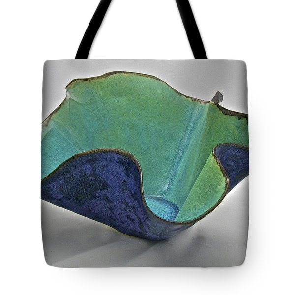 Paper-thin Bowl  09-006 Tote Bag by Mario Perron