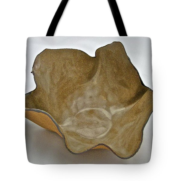 Tote Bag featuring the sculpture Paper-thin Bowl  09-010 by Mario Perron