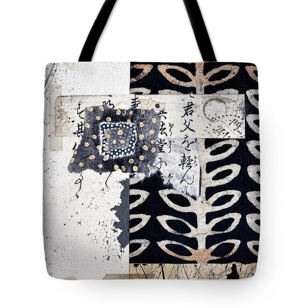 Papers Tote Bag by Carol Leigh