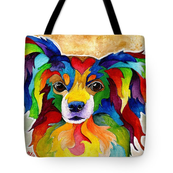 Papillon Tote Bag by Sherry Shipley