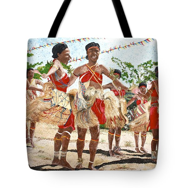 Papua New Guinea Cultural Show Tote Bag
