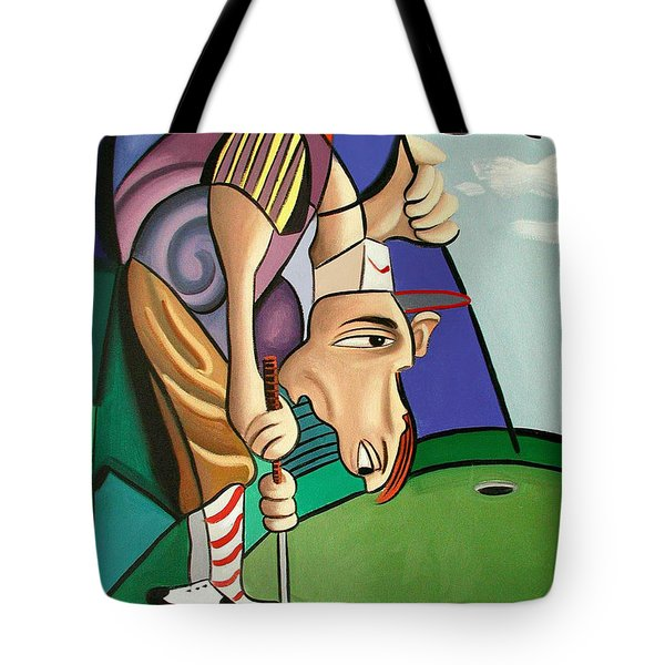 Par For The Course Tote Bag by Anthony Falbo