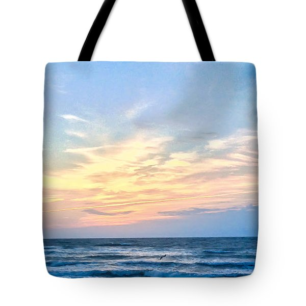 Paraclete At Sunrise  Tote Bag by Mary Ward