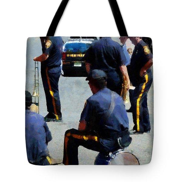 Parade Rest Tote Bag by Susan Savad