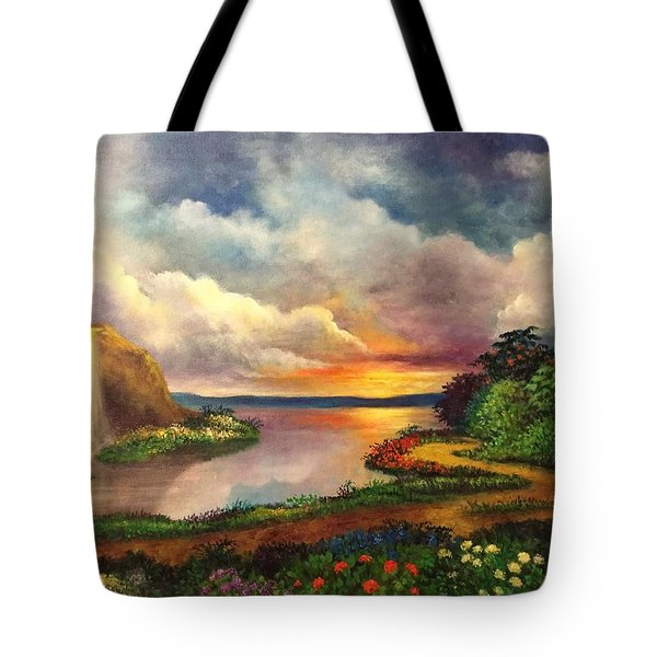 Paradise And Beyond Tote Bag