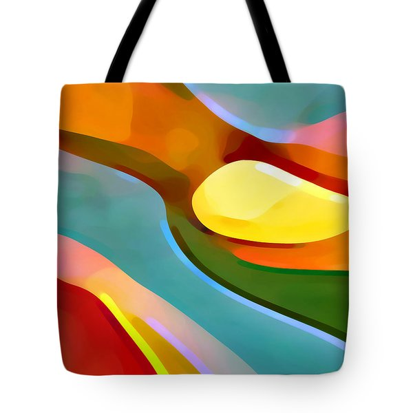 Paradise 5 Tote Bag by Amy Vangsgard