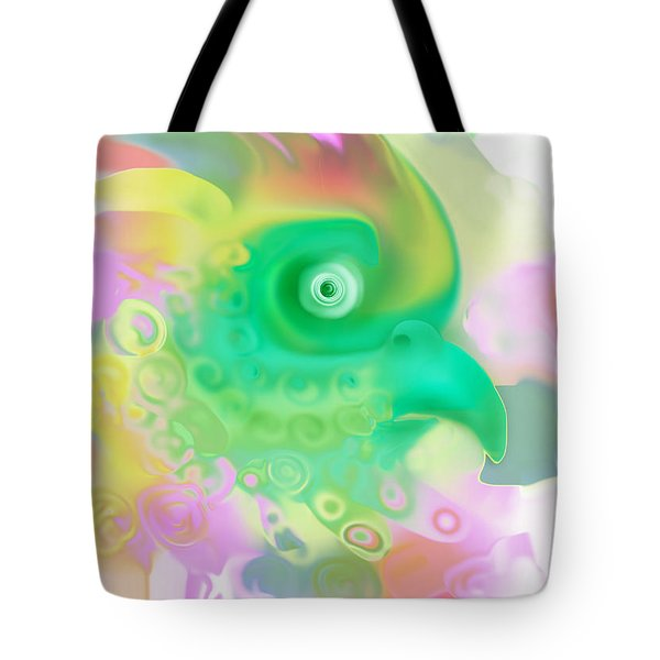 Paradise Bird Tote Bag