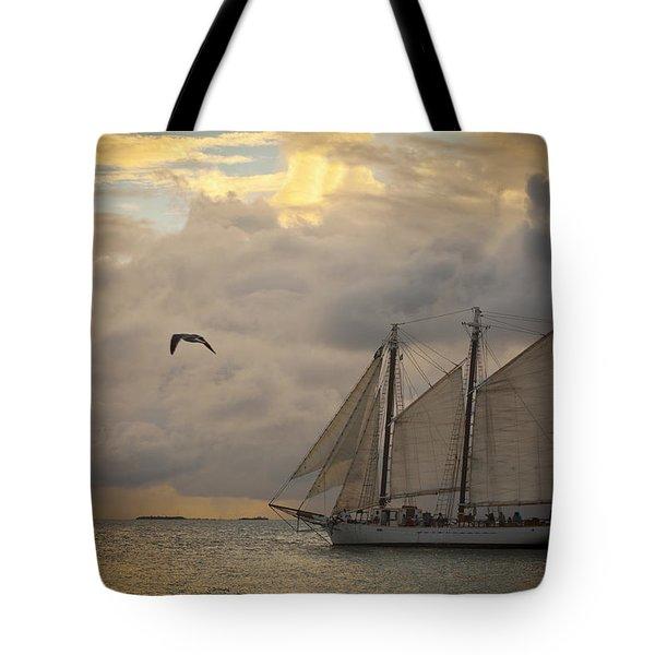 Paradise Calling Tote Bag