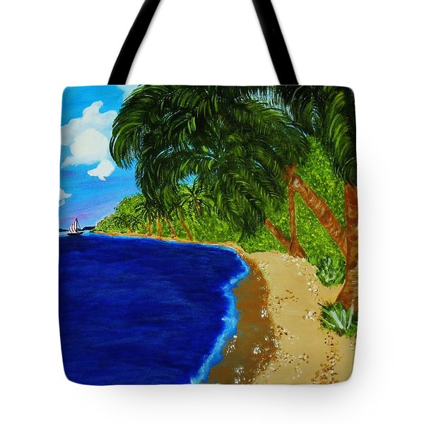 Paradise Tote Bag by Celeste Manning