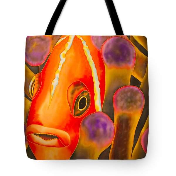 Paradise Clownfish Tote Bag by Daniel Jean-Baptiste