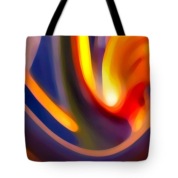 Paradise Creation Tote Bag by Amy Vangsgard