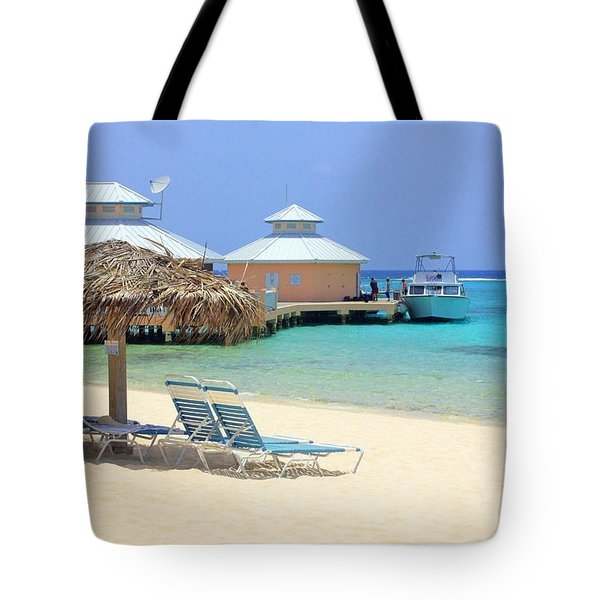 Paradise Docking Tote Bag