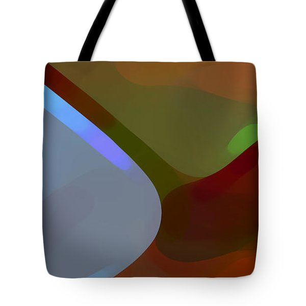 Paradise Found 1 Panel A Tote Bag by Amy Vangsgard