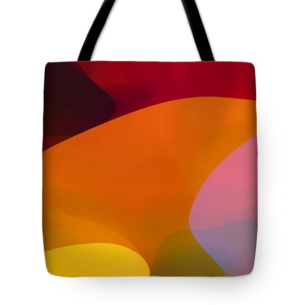 Paradise Found 1 Panel C Tote Bag by Amy Vangsgard