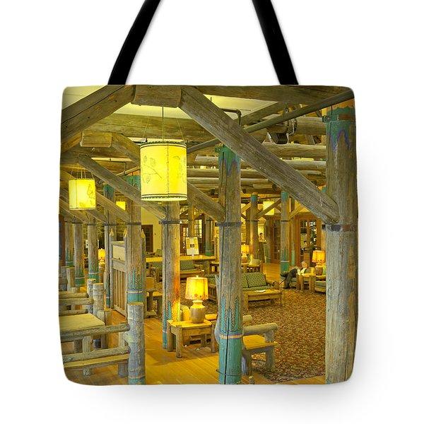 Paradise Inn Lobby Tote Bag