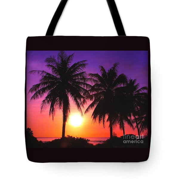 Paradise Is Waiting Tote Bag