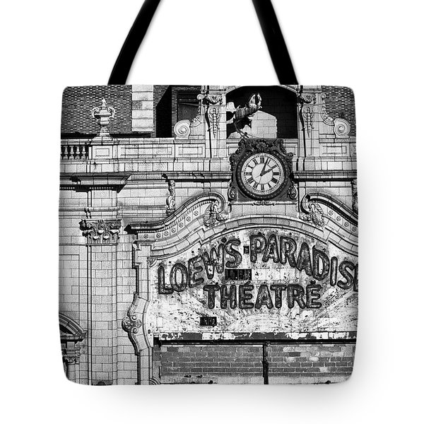 Paradise Movie Theatre Tote Bag