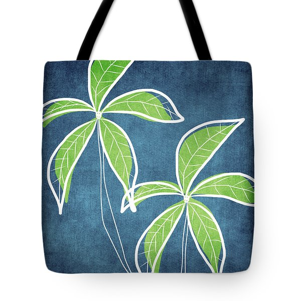 Paradise Palm Trees Tote Bag